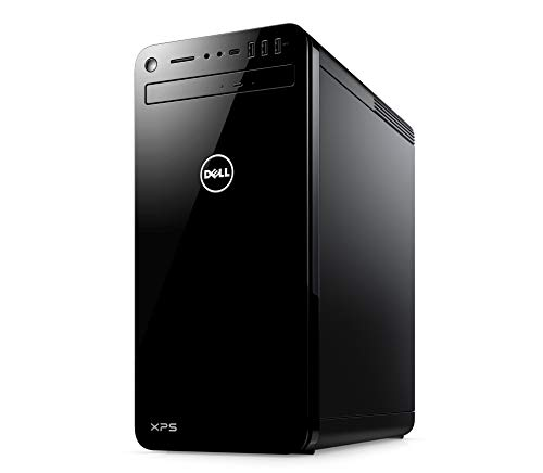 Dell XPS 8000 Gaming Desktop PC (Black) - (Intel Core i7-9700, 8 GB RAM, 512 GB SSD + 1 TB HDD, Nvidia GeForce GTX 1660 Ti 6 GB GDDR6, Windows 10)