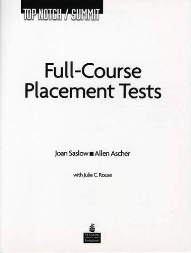 Top Notch / Summit Full Course Placement Tests