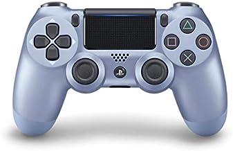 Sony PS4 Dualshock 4 Controller, Titanium Blue (Official Version)