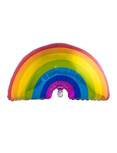 TrendClub100® Folienballon Luftballons Ballon Regenbogenfarben - Regenbogen Rainbow LGBT Gay - 37' 94 cm