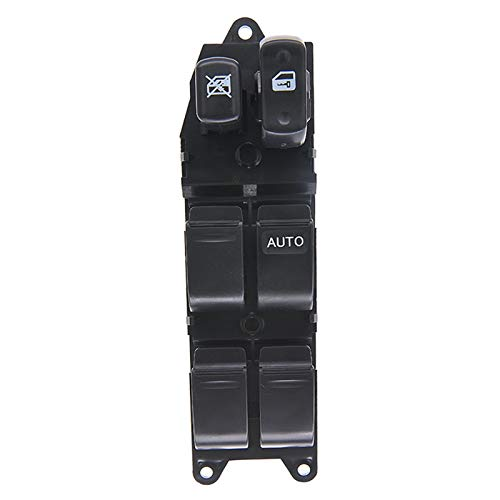 MNBHD Interruptor de ventana 84820-60120 84820 60120 Interruptor de ventana delantera derecha para Toyota Land Cruiser 100 Series 1998-2002 HDJ100 HZJ105 84820-52010