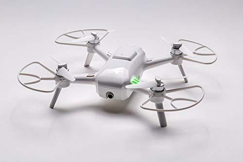 Yuneec Breeze kompakter Quadrocopter mit Premium 4K-UHD-Kamera (24 cm Durchmesser, Videofunktion, 13MP) und Controller Set und 1 Akku, Weiß