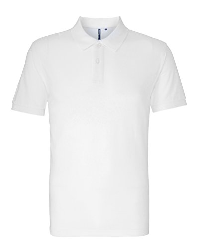 Asquith Fox - Polo - Homme - Blanc - Large