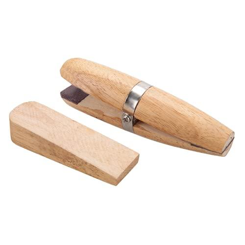 Abrazadera de madera para joyería, herramienta de soporte de abrazadera de madera, herramienta básica práctica con mandíbulas, herramientas de joyería, para hacer joyas