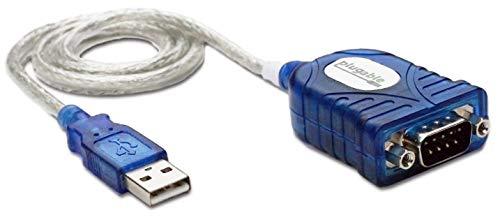 Plugable USB Seriell Adapter kompatibel mit Windows, Mac und Linux (RS-232 DB9 Steckerbuchse, Prolific PL2303HX Rev D Chipsatz)