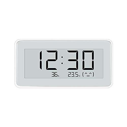 Dewanxin Thermometer Hygrometer E-Ink Display, für Mijia Thermometer Hygrometer Digital für Innen Thermo-Hygrometer für Haus, Büro, Blumenhaus Küche