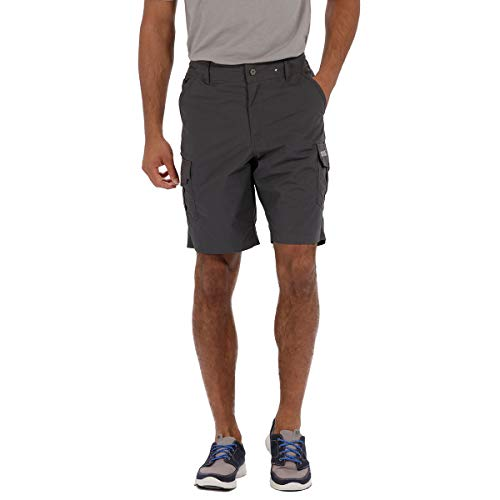 Regatta Mens Delph Short Homme Iron FR : XL (Taille Fabricant : 38\