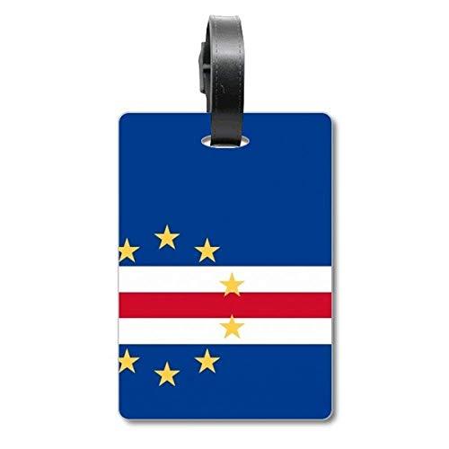 Kaapverdië nationale vlag Afrika land Cruise koffer tas Tag Tourister identificatie label