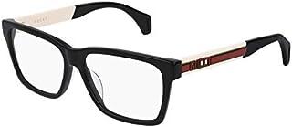Eyeglasses Gucci GG 0466 OA- 001 BLACK/WHITE