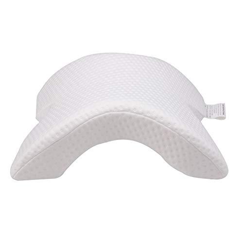 Almohada arqueada de algodón con Memoria, Almohada para Dormir para abrazar a la Pareja, Anti adormecimiento de Las Manos, Alivia la presión de Las Manos y el Cuello