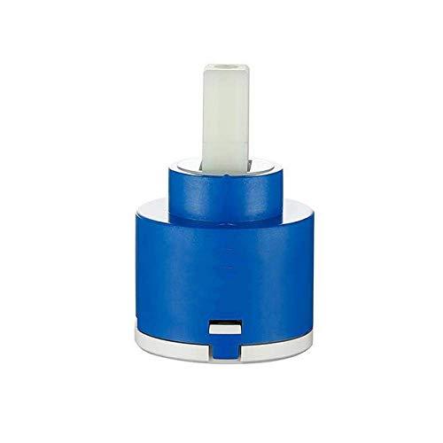 C/H Cartucho de Cerámica para Grifos 40/35/25mm Mezclador Bajo Par Accesorios Husillo Base Plana Rotación Libre Válvula Desvío Ducha Bobina Núcleo Agua