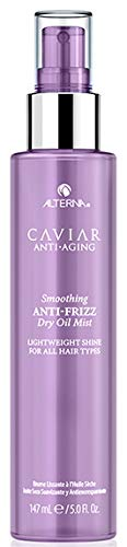 Alterna Caviar Anti-Aging Smoothing Anti-Frizz Dry Oil Mist, 5 Fl Oz | Lightweight, Adds shine | Sulfate Free