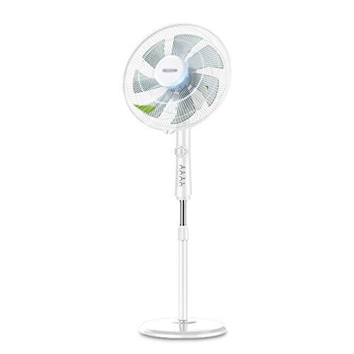 Statiefventilator, Oscillerend/Roterend 3 Snelheden, Hoogte Verstelbaar 15 Inch Kantelbare Kop Elektrische 55W Staande Ventilator, Voor Zomer in Huis/Kantoor (Mechanisch/Afstandsbediening)