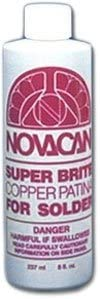 Novacan Industries Set of 2 Super Max 85% OFF Brite Purchase for Solder Patina Copper
