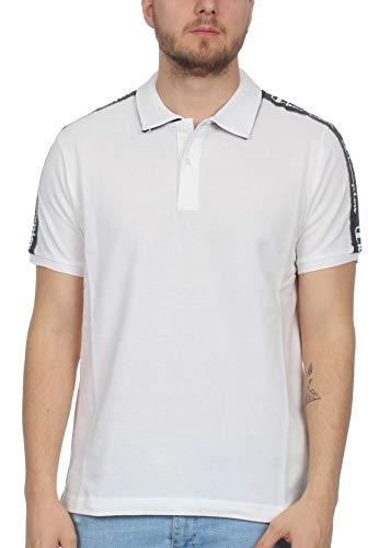 Champion Polo Herren 212850 S19 WW001 WHT/NNY/OXGM Weiss, Größe:L