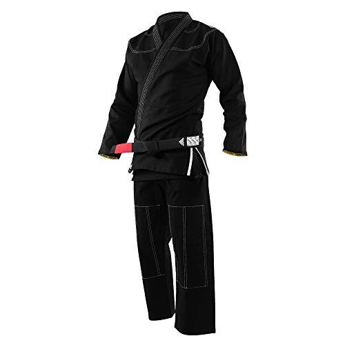 Kimono Jiu Jitsu Adulto Bjj adidas Challenge Preto (A1)