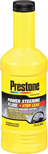 Prestone AS262 Power Steering Fluid with Stop Leak - 12 oz.