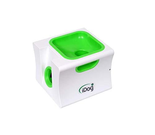 iDog Ballwurfmaschine Automatische Ball Launcher Rechargeable Ball Launcher Automatische Kugelschleuder Interaktive Ball Thrower mit 5 Hund Bälles für Klein Hunde (Mini)