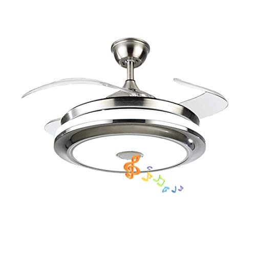 Fandian 36'' Modern Ceiling Fans with Light Smart Bluetooth...