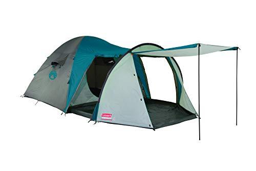 Coleman Cortes 5 Plus Zelt, 5 Mann Kuppelzelt mit Vorraum, Familien Campingzelt für 5 Personen, wasserdicht WS 2.000mm