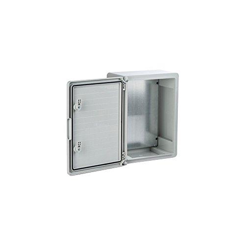Pritex Kunststoff-Schaltschrank 400x300x195mm Schaltschrank Leergehäuse Industriegehäuse