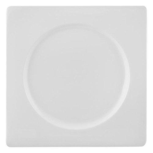 HOTELWARE Plat, 26 cm, Porcelaine, Blanc