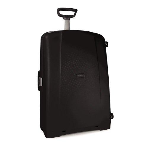 Big Sale Samsonite Luggage F'Lite Upright 30 Wheeled Suitcase, Black, One Size