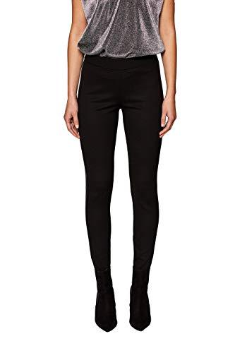 edc by ESPRIT Damen 118CC1B024 Leggings, Schwarz (Black 001), W38(Herstellergröße: M)