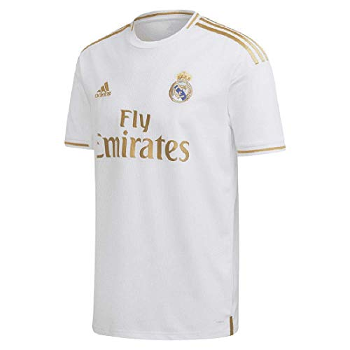 Adidas Real Madrid Maillot domicile 19/20, Blanc., m