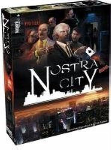 presentando toda la última moda de la calle Nostra City Board Game by Publisher Publisher Publisher Services Inc (PSI)  60% de descuento