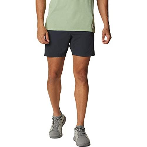 Mountain Hardwear Men's Standard Basin Trek Short, Dark Storm, 32 x Regular