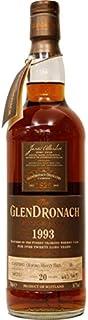 Whisky - The Glendronach Single Cask 1993 Oloroso Sherry Butt 20 Jahre 54,7% vol 700ml