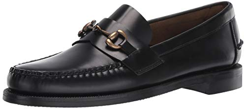 Sebago Men's Classic Joe Loafers, Black, 10.5 Medium US