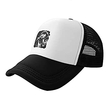 Shenghuihuiqian Steven Tyler Trucker Hat Adjustable Baseball Cap Unisex Black