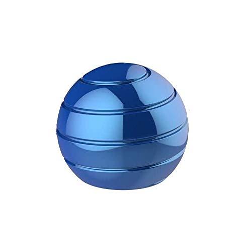 VCOSTORE kinetische Schreibtisch Spielzeug Metall Spinner Kugel Gyroskop mit optischer Illusion visuelle dynamische dynamische dynamische für Erwachsene Antiangst entlastet Stress (55mm)