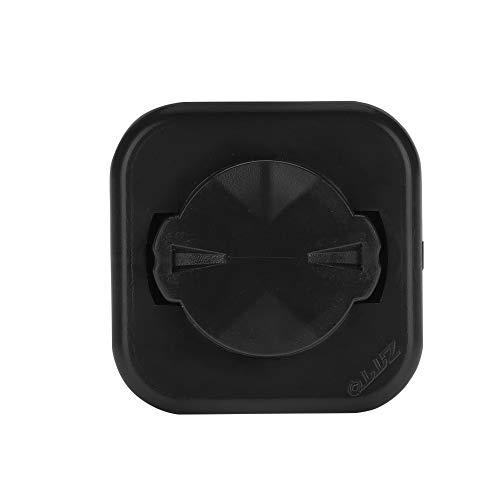 Alomejor Plaque de Support de Fixation en métal avec adhésif pour Montage Pinces magnétique pour Téléphone Portable
