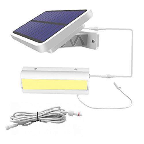 sevenjuly Solar Luces De La Calle Lámpara De Pared Led Al Aire Libre 2 En 1 Powered Recargable Impermeable De Una Sola Cabeza De Navidad para El Jardín
