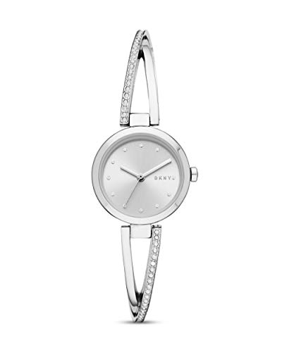 DKNY Damen-Uhren Analog Quarz One Size Edelstahl 87636879