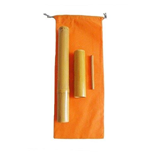 Kit 3 bambuterapia - cañas de bambú para masaje corporal.