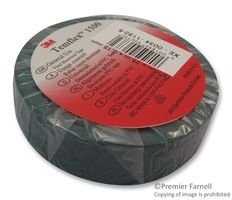 10 pieces 0.75 82.02 ft PVC Polyvinylchloride 3M FE510089710 Tape 25 m 19 mm Insulating Red
