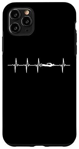 Swimming Heartbeat phone case