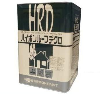 ニッペ ハイポンルーフデクロ 各色 1液 油性 溶剤 弱溶剤 エポキシ 錆止め (グリーン 16Kg缶)