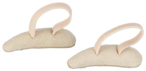 Berkemann Zehenkissen S links Schuhpads, Beige (beige), S