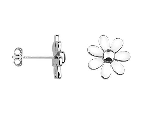 SOFIA MILANI - Damen Ohrringe 925 Silber - Ohrstecker als Blume - 20053