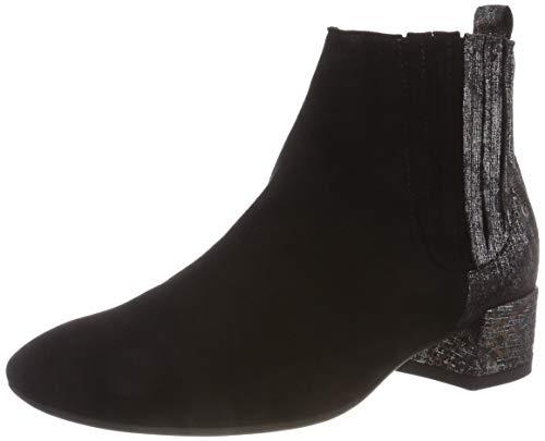 Think! Damen GLEI_383234 Chelsea Boots, Schwarz (09 Sz/Kombi), 41 EU