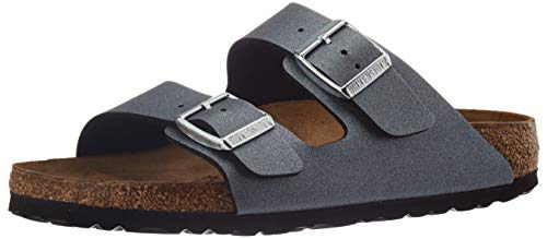 BIRKENSTOCK Sales GmbH Arizona BS[Slipper] Größe 42 EU ICY Metallic Anthrac