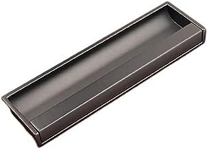 Handvat Legering Keukenkast Handvat Moderne Invisible Handgreep Slaapkamer Lade Trek (Color : E)