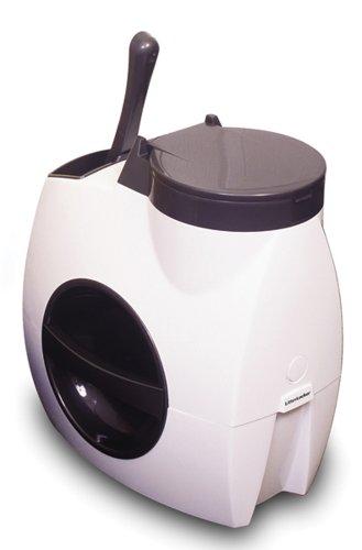 Petmate Litter Locker Soiled Litter Disposal System White/Black