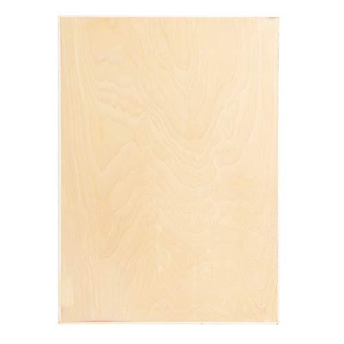 8K Hohlpappel Holz Hohlskizzenbrett Holzmalbrett Art Supply Sketch Table geeignet für Bastelarbeiten(8K)