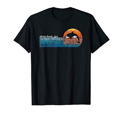 Vintage Hobie Beach, South Africa Retro 80s Orka Sunset T-Shirt